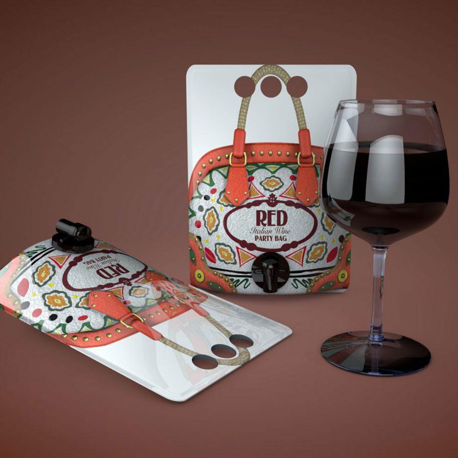 Mock-ups - 3D photo-realistic images Prada