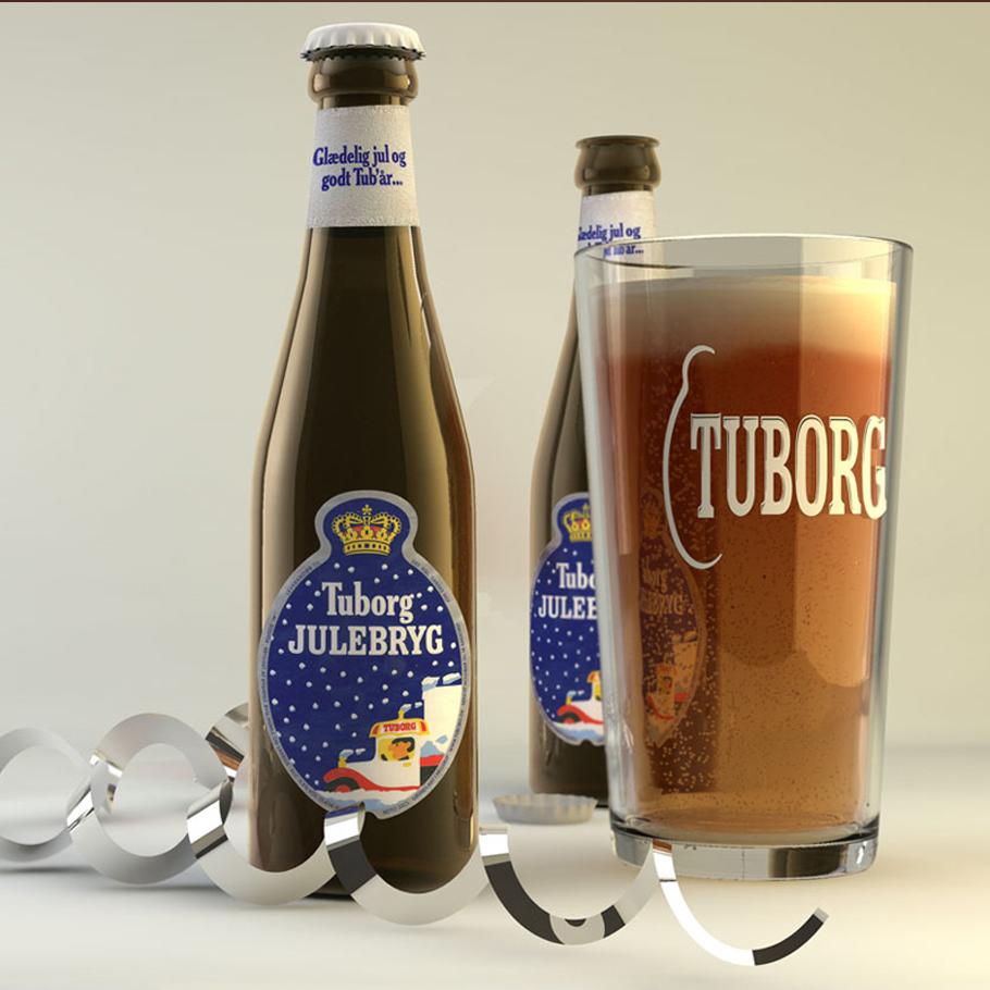 Mock-ups 3D photorealistic images beverages