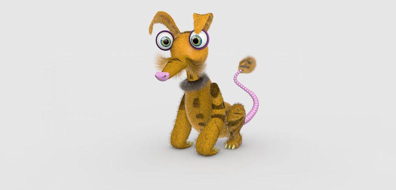 3D character design at Studio Mitchell