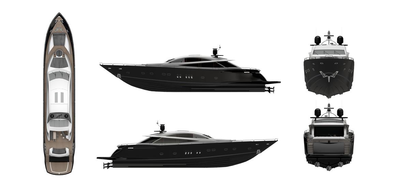 yacht illustration by Studio Mitchell