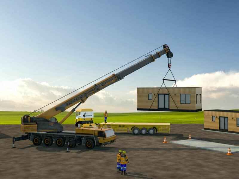 3D animation - Building With Frames