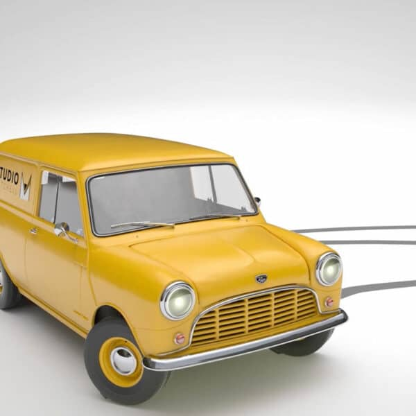 3D animation - vehicle