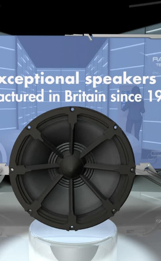 3D animation - Volt Loudspeakers